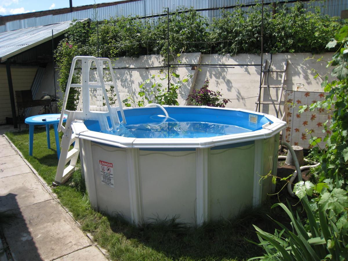 Каркасный бассейн своими руками пошаговая инструкция