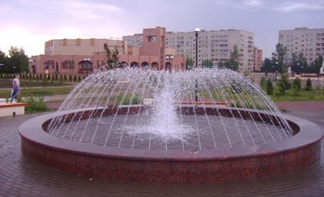 Установка и строительство фонтанов