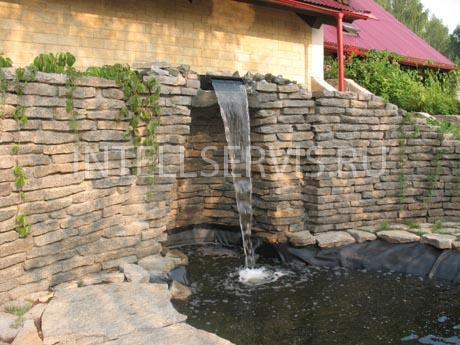 Строительство водопадов для дачи