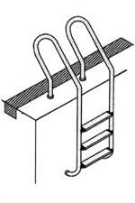 Лестницы для бассейнов MXI