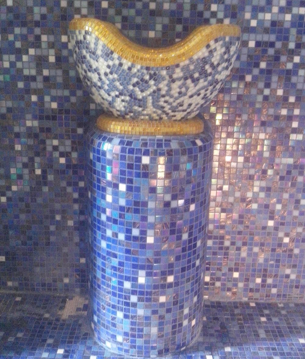 Курна из мозаики
