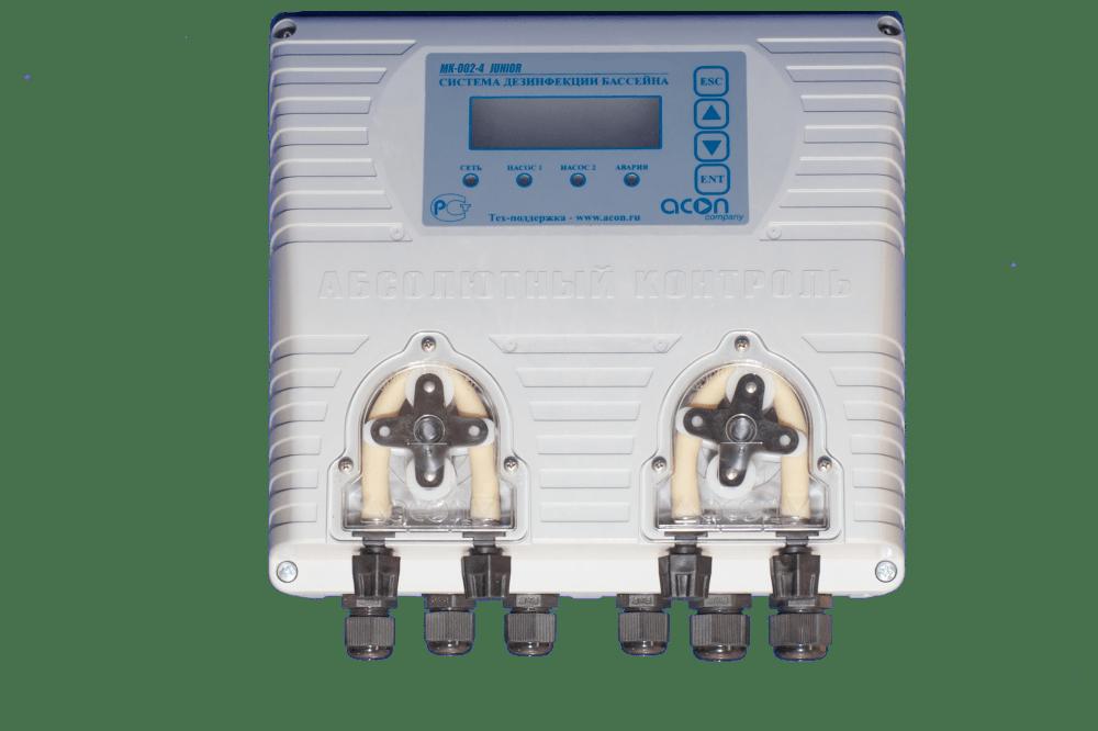 Автоматические станции дозирования pH Акон JUNIOR до 500 м3