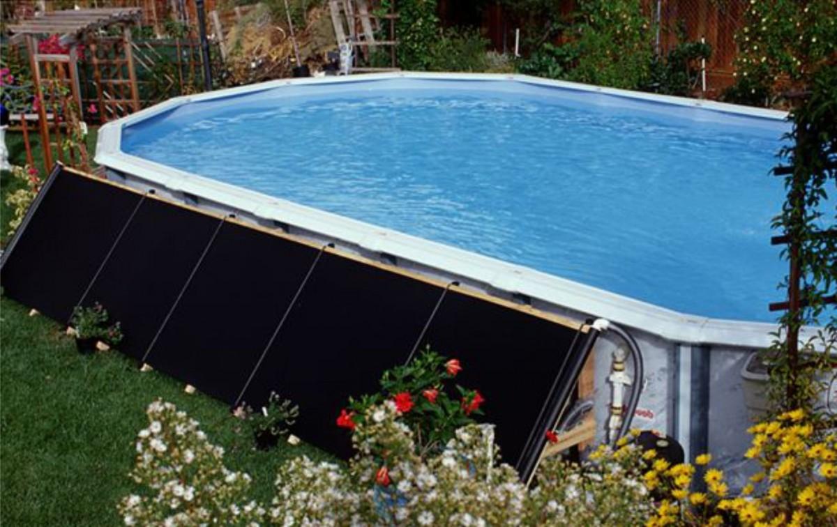 Солнечный коллектор воды для бассейна своими руками 99