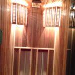 Инфракрасная сауна из кедра