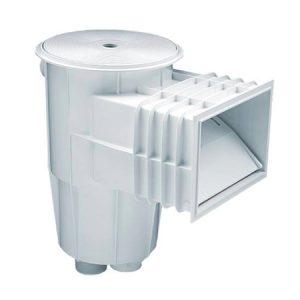 Скиммер пластик 7.5м3/ч с квадратной крышкой плитка